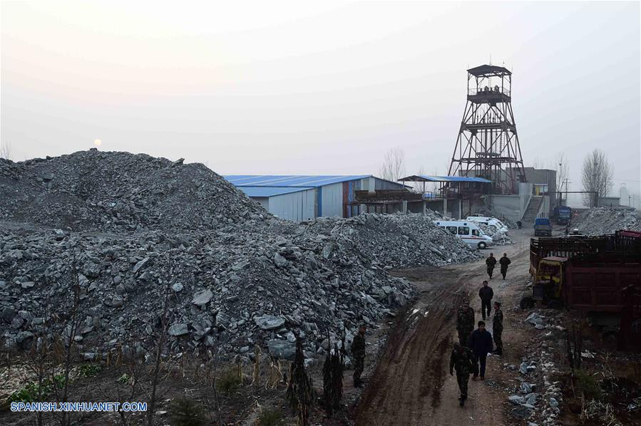 mineros atrapados china