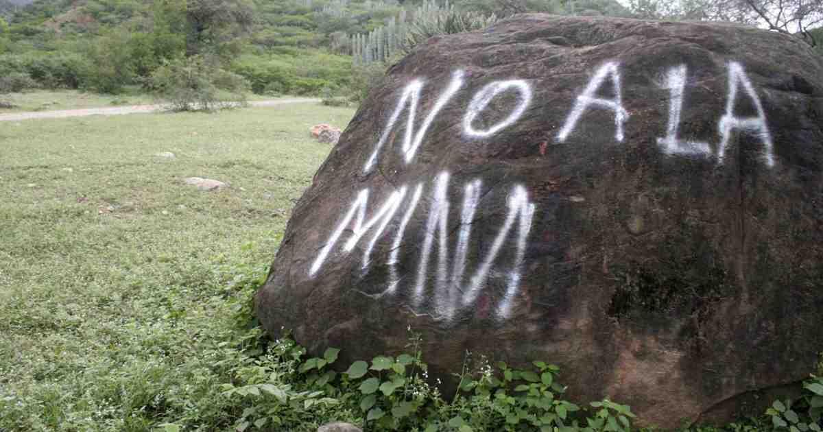 Zapotecas rechazan proyecto minero