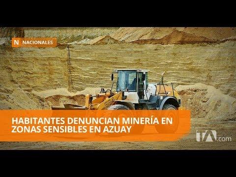 Denuncian que trabajos de minería ponen en riesgo vidas humanas